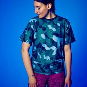 Cam-green-T-shirt